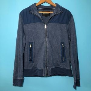 Banana Republic Blue Jacket Zip Up Casual